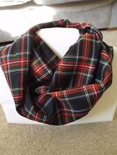 Soft Warm Stirling Tartan Infinity écharpe snood Cowl Plaid Mother's Day