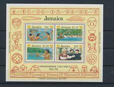 LO68424 Jamaica Columbus explorer fp good sheet MNH