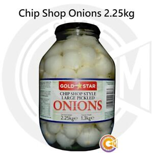 Gold Star Chip Shop Chippy Large Pickled Onions 2.25kg
