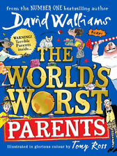 NEW The World's Worst Parents By David Walliams Paperback Free Shipping