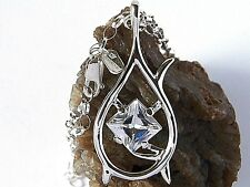 .925 STERLING SILVER CHAIN with TAURIEL'S NECKLACE, PENDANT , HOBBIT, LOTR