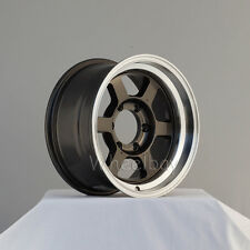 4   ROTA WHEELS GRID TYPE X 16X8 6X139.7 0 RGM NISSAN TOYOTA FORD PICK UP NO CAP