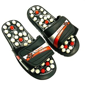 Acupressure Magnetic Massage Health Slipper Sandal Shoes Reflexology Acupuncture