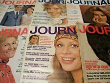 Lot of 6,Vintage 1972 Ladies Home Journal Magazine,T Kennedy,S Loren,Nixon,Ads++