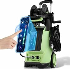 3800psi Smart Power Washer 28 Gpm Adjustable Electric Pressure Washer Cleaner