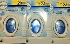 Febreze Cotton Fresh Bathroom Air Freshener x 3**Fast Dispatch**