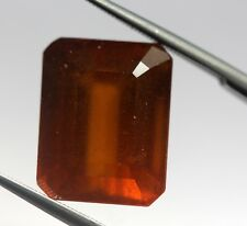 Huge Big Size 13.34 Ct Natural Hessonite Garnet Loose Bright Brown Color Gem AA+