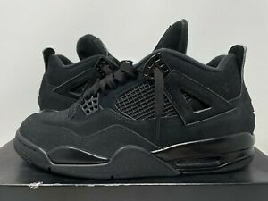 Air Jordan 4 Black Cat Sneakers For Men For Sale Ebay