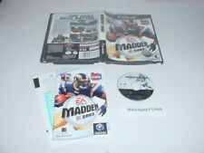 MADDEN NFL 2003 game complete in case w/ manual GAMECUBE or Wii