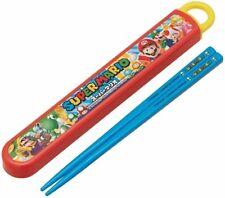 Skater Children Chopsticks Box Set Slide Type 16.5cm Super Mario ABS2AM