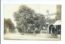 Lodi OHIO vintage LODI STATE BANK 4% old RPPC Real Photo Post Card 1920 postmark