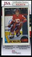 Joe Mullen JSA Coa Hand Signed 1987 OPC Autograph