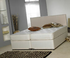 6FT SUPER KING SIZE ZIP & LINK DIVAN BED ZIP AND LINK