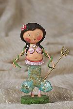 Lori Mitchell™ - Marina Mermaid - Ocean Summer Figurine w Spear & Shells - 34038