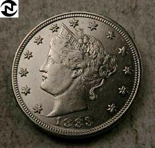 1883 (no cent) Liberty V Nickel // Choice AU++ // 1 Coin