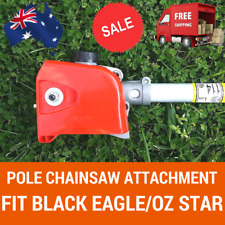 Chainsaw Head Attachment For Pole Chain Saw Pruner Fit BLACK EAGLE, OZ STAR