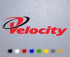 STICKER PEGATINA DECAL VINYL AUTOCOLLANT AUFKLEBER Velocity Sport