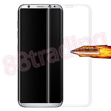 FULL SIZE CURVED FIT TEMPERED GLASS SCREEN PROTECTOR FOR SAMSUNG GALAXY S8