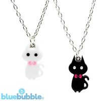 Bluebubble KITTY CAT Necklace Funky Fun Cute Kitsch Kawaii Sweet Animal Cool Pet