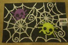 "New Halloween Spiderweb Bath Rug 20"" x 30"""