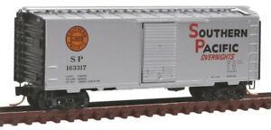Micro-Trains 02000762 N Southern Pacific 40' Single Door Boxcar #163317 LN/Box