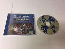 Supermax Lovemachine Blue Chip  551 482-2 CD Germany  731455148220 MINT