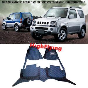 For Suzuki Jimny 2000-2015 RHD Car floor mats Right hand drive Auto foot pad