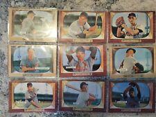 St.Louis Cardinals 1955 Bowman Lot-9 Cards(Hemus,Schoendienst, Raschi)
