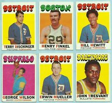 1971-72 Topps 24 Different Commons CELTICS CAVALIERS LAKERS COLONELS SQUIRES 2