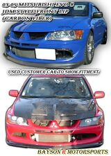 Do-Luck-Style Front Lip (Carbon) Fits 06-07 Mitsubishi EVO 8 VIII