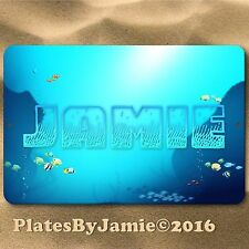 Personalized Custom Any Name Fish Ocean Room Door SIGN Wall Plaque New