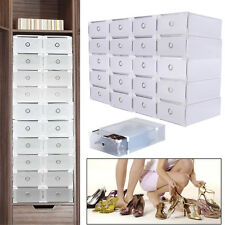 20 Set Schublade Schuhbox stapelbare Schuhkarton  Schuhaufbewahrung shoe storage
