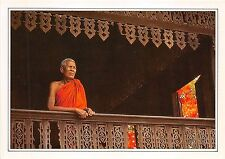 BF36417 thailand an old buddhist monk   front/back scan