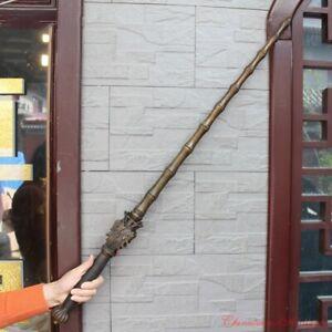 Solid Copper Demonic Pestle Bamboo Joint Mace Exorcise Evil Battle Ready #1696