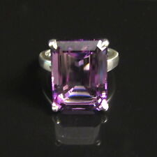 TIFFANY & CO ~ $1250 ~ SPARKLERS AMETHYST RING ~ SZ 5.5 ~  MINT POUCH
