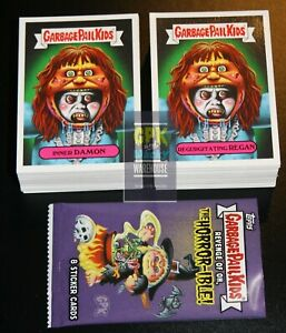 2019 GARBAGE PAIL KIDS REVENGE OF OH THE HORROR-IBLE 200 CARD SET + FREE WRAPPER