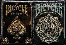 Bicycle Black Magic + Paragon Playing Card Deck Set by Shapeshifters New