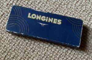 Vintage Original Rare 1940's-1950's Longines Blue Coffin Box