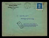 """Germany 1920 Commercial Cover to Netherlands / """"Royal Passage"""" - Z14011"""