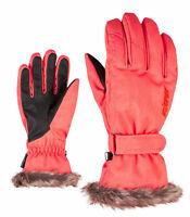 Ziener Damen Skihandschuhe Winterhandschuhe Kim Thermoshield pink