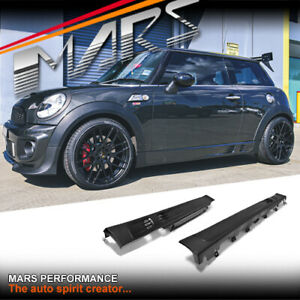 JCW Style Side Skirts Body kits for Mini R56 R57 R58 R59 Cooper / Cooper S