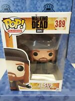 Funko POP! The Walking Dead -Vinyl Figure -JESUS #389 *Non Mint Box*