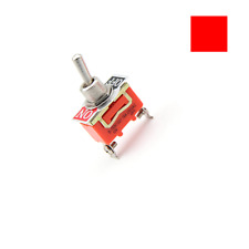 New E-TEN1021 2-Pin Toggle Flick Switch SPST ON-OFF Car Dash Light Metal