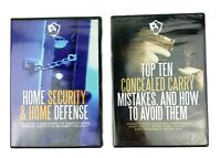 Top 10 Concealed Carry Mistakes + Home Security & Self Defense DVD SET SEALED