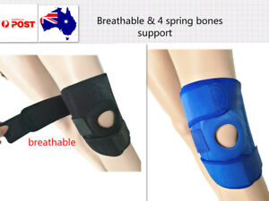 Sports Knee Patella Band Pad Brace Protection Silica Gel Spring Support