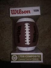 Wilson Tds Composite High School Game Ball Football