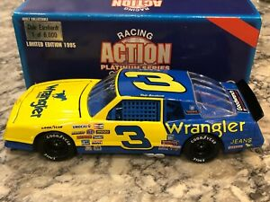 Action 1987 Dale Earnhardt #3 Wrangler Aerocoupe Monte Carlo 1/24  1 of 6000