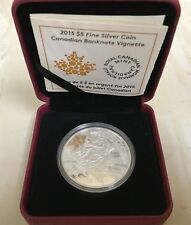 Fine Silver Coin - Canadian Bank Notes Series: Canadian Bank Note Vignette