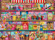 14653 RAVENSBURGER THE SWEET SHOP 500PC [ADULT JIGSAW PUZZLE] NEW IN BOX!
