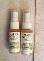 2 x Mario Badescu Facial Spray with Aloe, Herbs and Rosewater, 1oz / 30ml Each